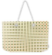 Butterfly Multiplication Abstract, Weekender Tote Bag