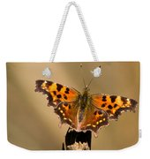Butterfly On A Stick Weekender Tote Bag