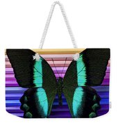 Butterfly On Colored Pencils Weekender Tote Bag