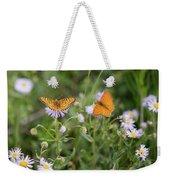 Butterfly On Fleabane #2 Weekender Tote Bag