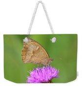 Butterfly On Knapweed Weekender Tote Bag