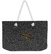Butterfly On Stone Weekender Tote Bag