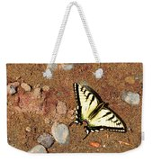 Butterfly On The Beach Weekender Tote Bag