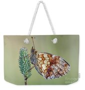 Butterfly On The Grass Weekender Tote Bag