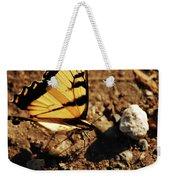 Butterfly On The Rocks Weekender Tote Bag