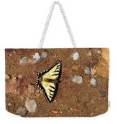 Butterfly On The Sand Two  Weekender Tote Bag
