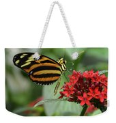 Butterfly Orange And Yellow Weekender Tote Bag