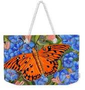 Butterfly Orange Weekender Tote Bag