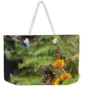 Butterfly Pas De Deux Weekender Tote Bag