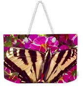 Swallowtail Butterfly Pink Weekender Tote Bag