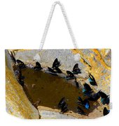 Butterfly Pool Weekender Tote Bag