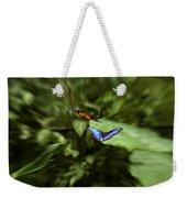 Butterfly Race Weekender Tote Bag
