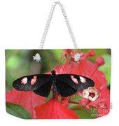 Butterfly Blush Weekender Tote Bag