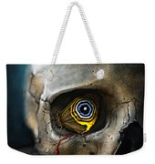 Butterfly Skull Weekender Tote Bag
