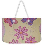 Butterfly Smiles Weekender Tote Bag