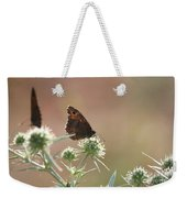 Butterfly Spring Nature Morning Scene Weekender Tote Bag