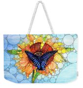 Butterfly Sunday After The Rain Weekender Tote Bag