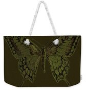 Butterfly Swallow Tail Weekender Tote Bag