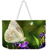 Butterfly Tea Time Weekender Tote Bag