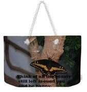 Butterfly Thing Of Beauty Weekender Tote Bag
