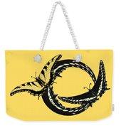 Butterfly Twist Weekender Tote Bag