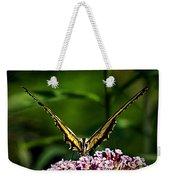 Butterfly Victory Weekender Tote Bag
