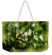 Butterfly Wall Decor Weekender Tote Bag