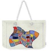 Butterfly Watercolor Weekender Tote Bag