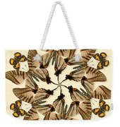 Butterfly Wheel Dance Weekender Tote Bag