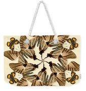Butterfly Wheel Dance Weekender Tote Bag