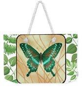 Butterfly With Leaves 2 Weekender Tote Bag