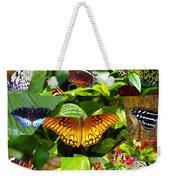 Butterfly Work 10 Weekender Tote Bag