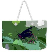 Butterfly Work Number Ten Weekender Tote Bag