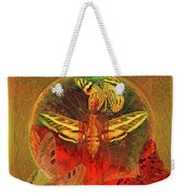 Butterflyman Solarlife Weekender Tote Bag by Joseph Mosley