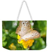 Butterflywith Dots Weekender Tote Bag