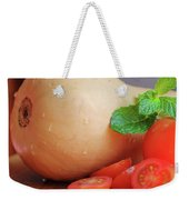 Butternut Mint And Tomatoes Weekender Tote Bag