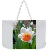 Button Daffodil Weekender Tote Bag