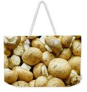 Button Mushrooms Weekender Tote Bag