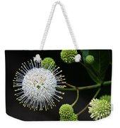 Buttonbush Flowers Weekender Tote Bag