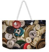 Buttons And Buttons Weekender Tote Bag