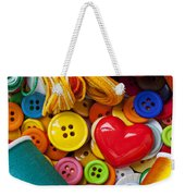 Buttons And Thread Weekender Tote Bag