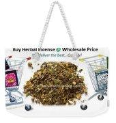 Buy Herbal Incense In Great Number At Wholesale Prices Weekender Tote Bag
