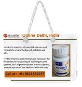 Buy Virbac Nutrich Tablets Online, Delhi, India Weekender Tote Bag