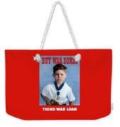 Buy War Bonds -- Third War Loan Weekender Tote Bag