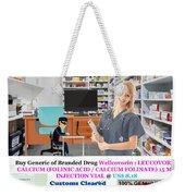 Buy Wellcovorin Weekender Tote Bag