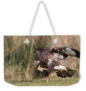 Buzzard Feeding Weekender Tote Bag