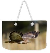 Buzzard In Flight Weekender Tote Bag