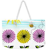 Buzzy As A Bee Weekender Tote Bag