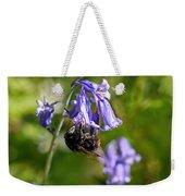 Buzzy Bee On Bluebells Weekender Tote Bag