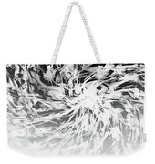 Bw Abstract Spiral Weekender Tote Bag